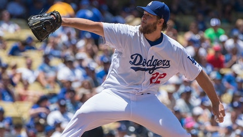Clayton Kershaw, SP, Dodgers