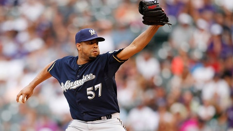 Francisco Rodriguez, RP, Brewers