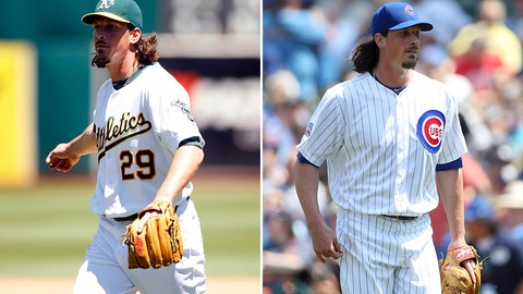 Honorable mention: Jeff Samardzija, SP, Cubs (traded to Athletics on July 4)
