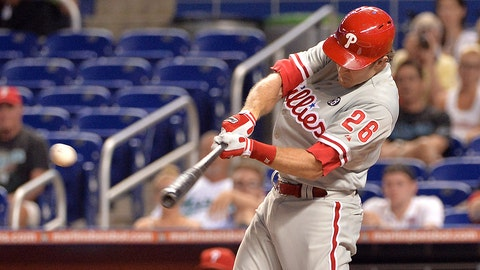 Chase Utley, 2B, Phillies