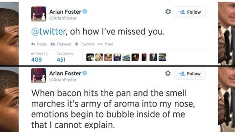 Arian Foster, RB, Houston Texans