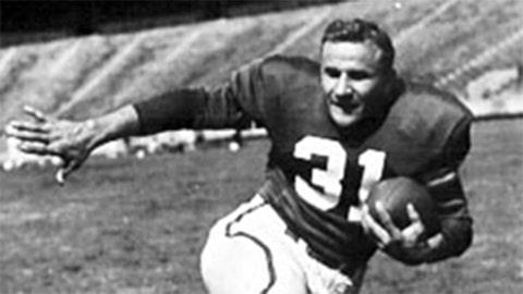 Ohio State RB Vic Janowicz, 1950 winner