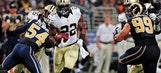 Ingram leads Saints past Rams