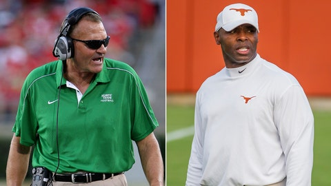 North Texas at Texas, Saturday, 8 p.m. ET, Longhorn Network