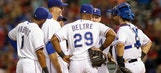 Offense can't dig Rangers out of early hole
