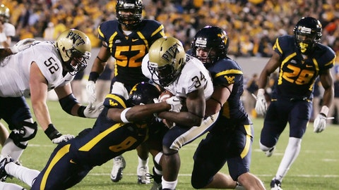 West Virginia vs. Pittsburgh - Last played: 2011
