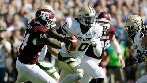 Texas A&M vs. Baylor - Last played: 2011