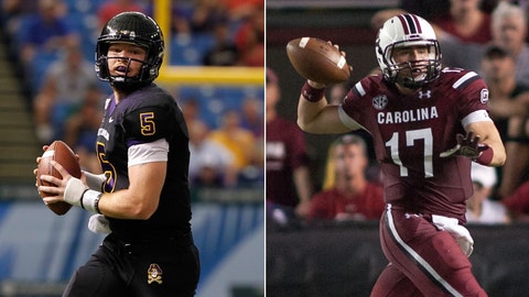 East Carolina at No. 21 South Carolina, Saturday, 7 p.m. ET, ESPNU