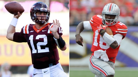 Virginia Tech at No. 8 Ohio State, Saturday, 8 p.m. ET, ESPN