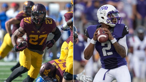 Minnesota at TCU, Saturday, 4 p.m. ET, FOX Sports 1