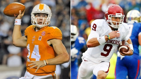Tennessee at No. 4 Oklahoma, Saturday, 8 p.m. ET, ABC