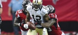 Colston's fumble in OT hands Falcons win over Saints