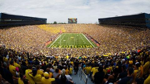 Michigan Stadium – 109,901