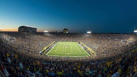 Notre Dame Stadium – 80,795