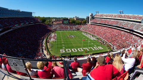 Sanford Stadium – 92,746