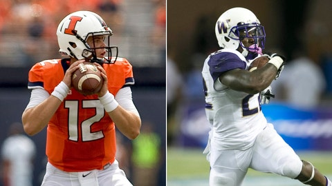 Illinois at Washington, Saturday, 4 p.m. ET, FOX