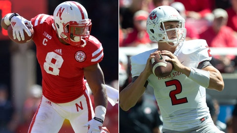 Nebraska at Fresno State, Saturday, 10:30 p.m. ET, CBS Sports Network