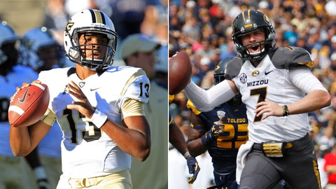 UCF at No. 20 Missouri, Saturday, 12 p.m. ET, SEC Network