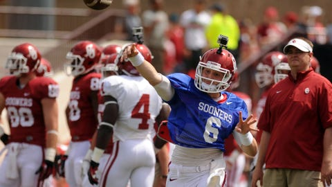 Oklahoma: Baker Mayfield, QB (Jr.)