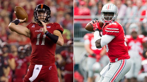 Cincinnati at No. 22 Ohio State, Saturday, 6 p.m. ET, Big Ten Network