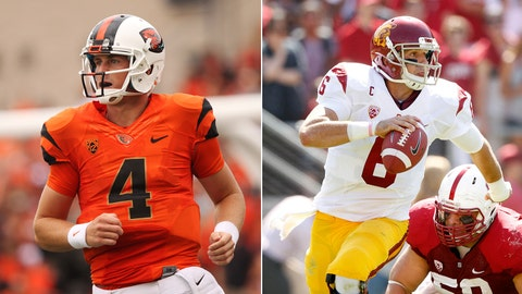 Oregon State at No. 18 USC, Saturday, 10:30 p.m. ET, ESPN