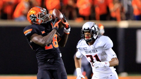 No. 24 Oklahoma State 45, Texas Tech 35