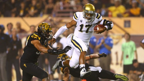 No 11 UCLA 62, No. 15 Arizona State 27, Thursday