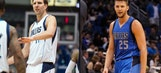 Chandler Parsons will now be buying Dirk's dinner on the road all season