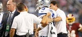 Romo day-to-day, gametime decision against Cardinals
