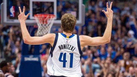 Dirk Nowitzki, 36, Dallas Mavericks