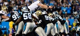 Saints top Panthers to take NFC South lead