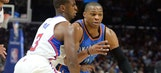 Thunder lose Westbrook, drop season opener to Clippers