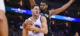 Warriors' Thompson thinks San Antonio Spurs are 'a monster'