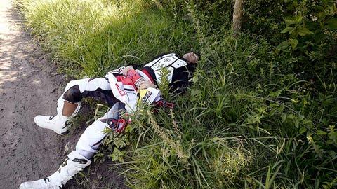 Rally Raid Motorcycle Rider Joan Bort Barreda