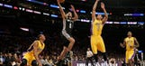 Spurs rout Lakers for 3rd straight win