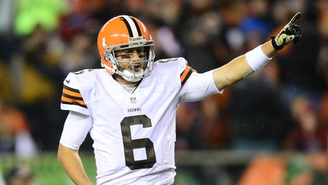 Hoyer is this Browns team's leader