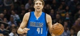 Nowitzki eclipses 27K points in Mavs win over Hornets