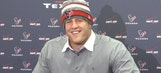J.J. Watt gets asked ridiculous, Christmas-themed question