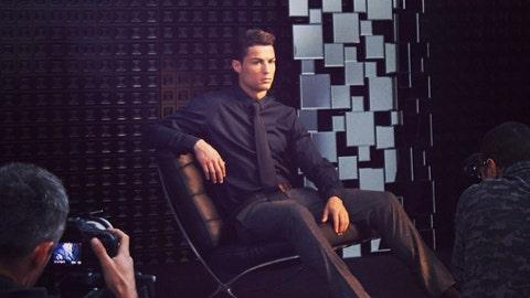 Cristiano Ronaldo - Wearer of Suits