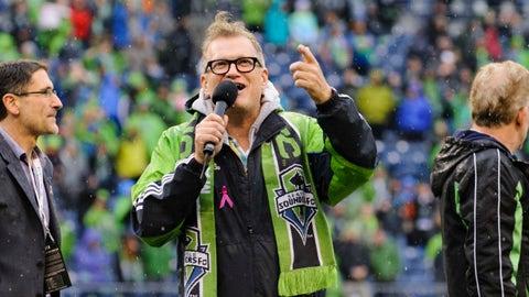 Drew Carey - Minority Owner, Seattle Sounders FC