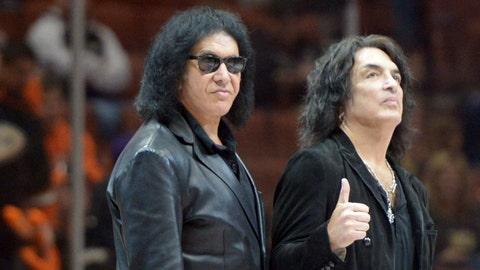 Gene Simmons and Paul Stanley - Owner, Los Angeles Kiss