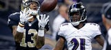 Despite Brees performance, Saints fall to Ravens
