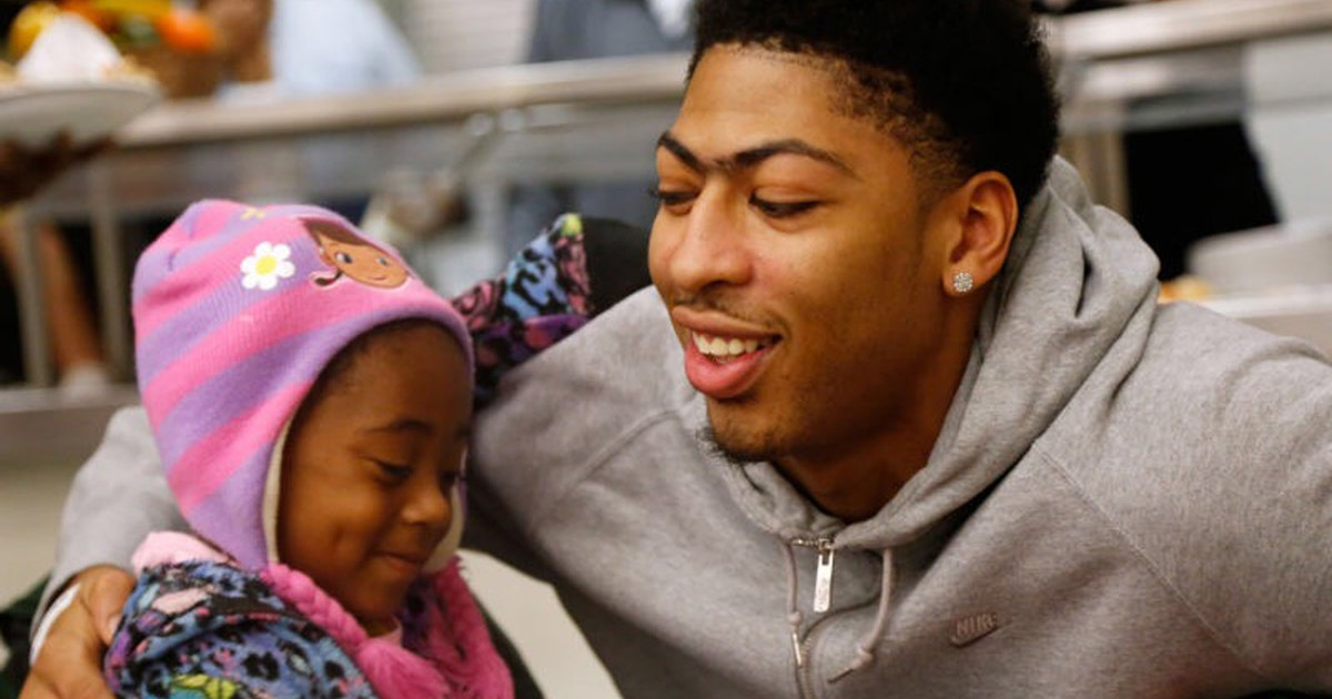 Anthony Davis and Family Commit To Helping New Orleans ...