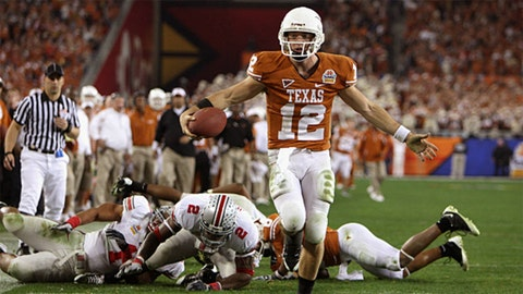 6. 2009 Fiesta Bowl: No. 3 Texas 24, No. 10 Ohio State 21