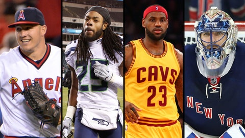 The Most Talked about Athletes on Twitter in 2014