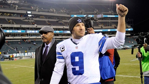 HATE: No matter how much you hate Romo and the Cowboys…you can't take your eyes off them. The television ratings for Cowboys game don't lie. Which means you probably watch Romo play more than you do your own favorite team…and it drives you insane.