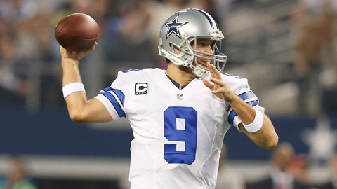 Tony Romo has only thrown four touchdowns in four career playoff games and has never topped more than 244 yards passing.