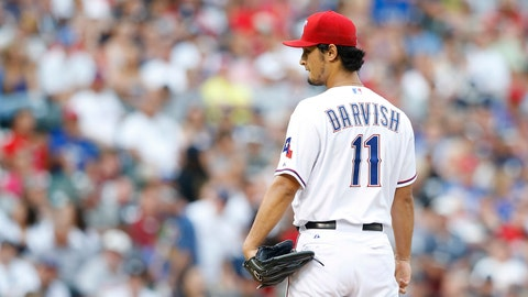 On the eighth day of Christmas the Rangers need: Yu Darvish to stay healthy.