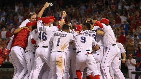 On the 12th day of Christmas the Rangers need: To get back into the postseason.