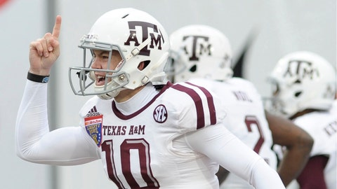 16. Kyle Allen, QB, Texas A&M